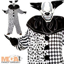 Evil Al The Clown Adults Fancy Dress Creepy Halloween Horror Mens Costume Outfit