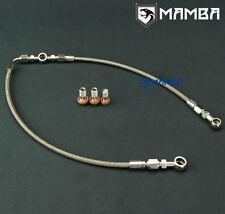 MAMBA AVCS / Turbo Oil Feed Line For Subaru 02~06 WRX / 04~14 STI TD04L TD05H
