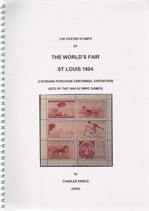 (I.B-CK) Cinderella Catalogue : Poster Stamps : St Louis World Fair (1904)