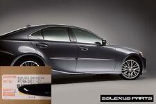 Lexus IS250 IS350 (2014-2018) OEM BODY SIDE MOLDINGS SET (Obsidian Black) (212)