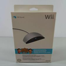 NINTENDO OFFICIAL WII SPEAK MICROPHONE RVL-029 (BRAND NEW) (T63)