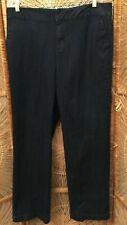 Denim & Co. Womens Jeans Size 14 Denim Dark Wash Straight Leg Cotton Stretch