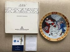 Royal Copenhagen 2006 Hearts Of Christmas Plate Denmark 10� Rare