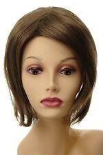 Toupet Haarteil Haarersatz Aufsatz Haarauffüller groß lang Hell-Braun L056-14