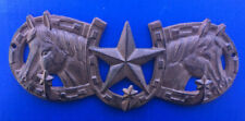 Western Equestrian Tack Decor Triple Horseshoe/Horse/Star Triple Hook