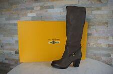 Car Shoe Stiefel Gr 37 boots Schuhe shoes Vintage KDW68H graubraun NEU UVP 550€