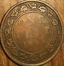 1893? CANADA LARGE CENT LARGE 1 CENT PENNY