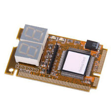 Notebook Diagnostic Card 2-Digit Mini PCI/PCI-E LPC POST Analyzer Tester HY