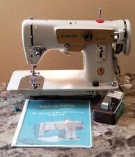 VTG Singer Fashion Mate 223 Zig-Zag Sewing Machine 100% Works Clean