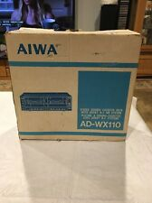 Vintage Aiwa Stereo Double Cassette Deck AD-WX110 Box ONLY