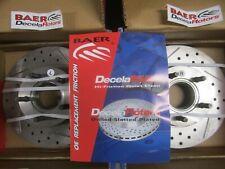95-97 Ford Ranger Mazda B-Series Cross-Drilled Slotted Rotors Pair 54038-020