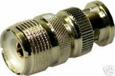 SO239 PL259 To BNC Male RF Adaptor for Radio Scanner Adapter