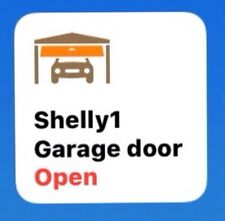 HomeKit compatible Shelly1 Garage (Door Opener)