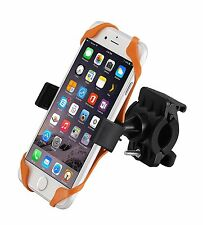 Universal Cradle Bicycle Smartphone GPS Mount 360° Rotatable Strong Grip (E256)
