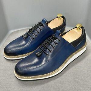 Men Casual Shoes Lace Up Sneakers Breathable Men Flat Shoes Oxfords Shoes