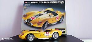 Bburago Burago metal kit Ferrari testa rossa le Mans 1957 scala 1:18 cod.7007