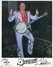 BUCK TRENT COUNRY MUSIC INSTRUMENTALIST SIGNED CARD AUTOGRAPH UH-HUH OH YEAH