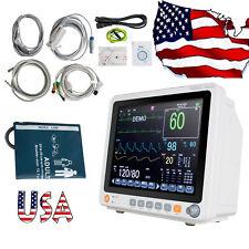 Us Touach Medical Patient Monitor 6 Parameter Icu Ccu Vital Sign Cardiac Machine