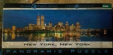 """EUC Twin Towers """"New York, New York"""" 750 pc. PANORAMIC Jigsaw Puzzle over 3ft"""