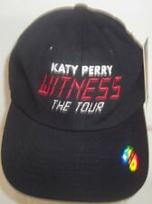 Katy Perry Witness The Tour Adjustable Black Baseball Hat Cap Strapback