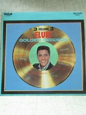 "ELVIS PRESLEY 12"", L.P. 33 rpm, ""ELVIS GOLDEN RECORDS"" Vol.3, 12 tracks, 1963"