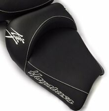 99-01-02-05-06-07 Hayabusa Custom Shaped & Covered Chrome Embroidered Front Seat