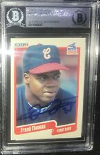 Frank Thomas Chicago White Sox SIGNED 1990 FLEER UPDATE BECKETT CERTIFIED 7