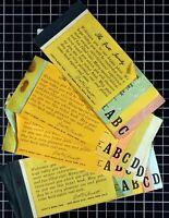 Vintage Knott's Berry Farm Super Bonanza ticket Book 1970's Lot of 4