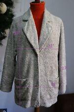 ESCADA SPORT sz M jacket blazer faux fur coat women