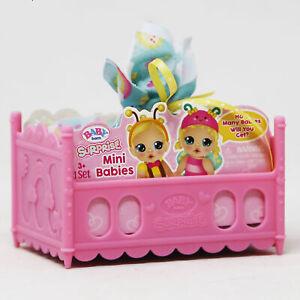 Baby Born Surprise Mini Babies, Unwrap Surprise Twins or Triplets Collectible