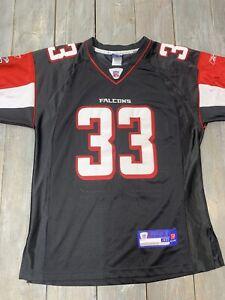 Reebok RBK NFL Equipment Falcons Jersey #33 Turner Adult  size 48
