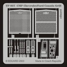 PE parts for CMP Chevrolet/ Ford Canada Grill (ITALERI),1/35, Eduard, TP037