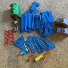 Tomy Thomas The Train Blue Track Curved Lot Of 52 Switches Track & More