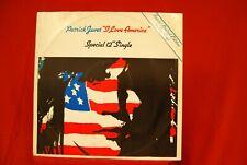 "Patrick Juvet - I Love America - 12"" Blue Vinyl Casablanca CAF 132"