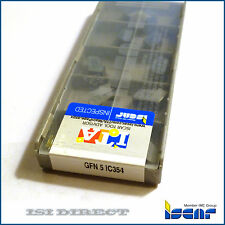 GFN 5 IC354 ISCAR *** 10 INSERTS *** FACTORY PACK ***