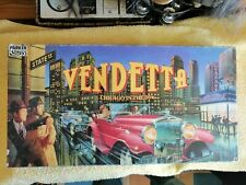 Vintage board game :Vendetta