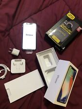 Apple iPhone X - 256GB - Silver (AT&T) A1901 (GSM)
