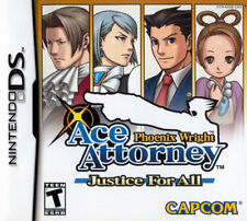 Phoenix Wright: Justice For All NDS New Nintendo DS, Nintendo DS