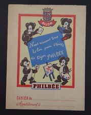 Protège cahier Pain d'épice PHILBEE Ourson copybook cover Wachbuch