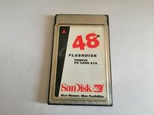 SANDISK 48MB FLASHDISK PCMCIA PC CARD ATA