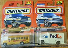 MATCHBOX #59 FedEx DELIVERY TRUCK 1:64 Scale