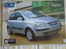 Hyundai Getz brochure Oct 2003