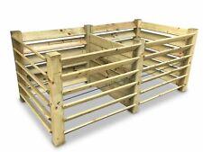 Doppel-Komposter Brettkomposter aus Holz 188x100x80 cm - ca. 1300 L