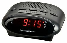 DUNLOP Uhrenradio LED | Radiowecker