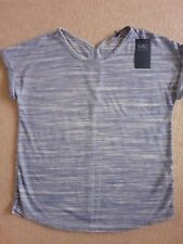Sports Casual Top M & S BNWT SIZE 12 BLUE