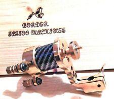 BORDER TATTOO MACHINE,HANDMADE BRASS ROTARY DIRECT-DRIVE,4MM CAM NEEDLE THROW