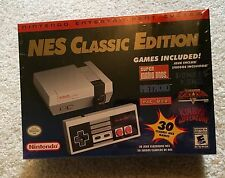 NEW Sealed in Plastic Professionally! Nintendo NES Classic Mini Console 30 Games