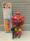 Transformers Action Masters Over-Run 1990 G1 with 1 Gun, Spec Strip, NO Copter