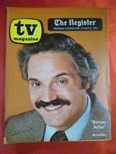 Los Angeles April 27-May 3 1975 TV Magazine guide BARNEY MILLER Hal Linden