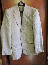 Vintage New Nos Mens McGregor Tweed Tan Blazer Sport Coat Jacket 38 R